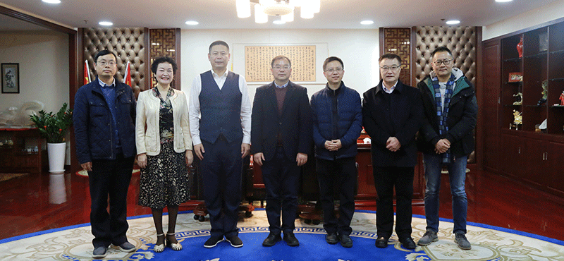 华东师范大学、普陀区科委领导一行莅临和数集团